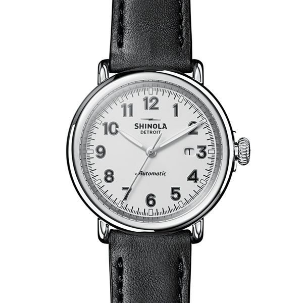 Shinola The Runwell 45mm Automatic Stainless Steel Watch Bremer Jewelry Peoria, IL