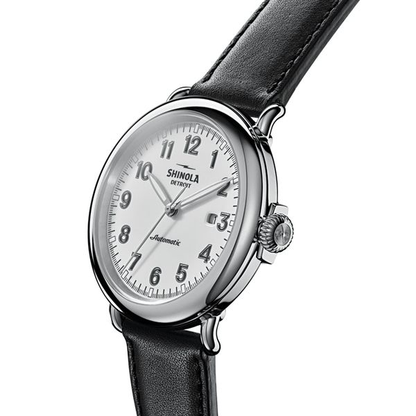 Shinola The Runwell 45mm Automatic Stainless Steel Watch Image 2 Bremer Jewelry Peoria, IL