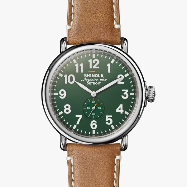 Shinola The Runwell 47mm Stainless Steel Watch Bremer Jewelry Peoria, IL