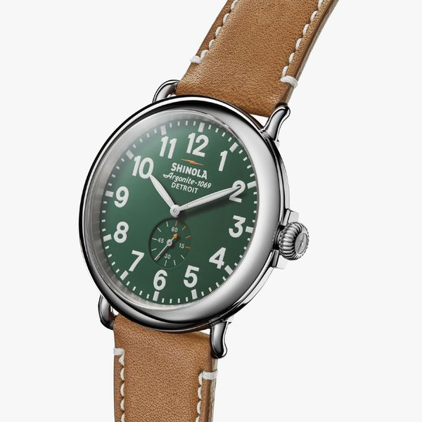 Shinola The Runwell 47mm Stainless Steel Watch Image 2 Bremer Jewelry Peoria, IL