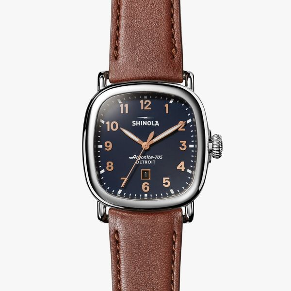 Shinola The Guardian 41.5mm Stainless Steel Watch Bremer Jewelry Peoria, IL