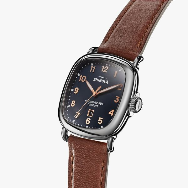 Shinola The Guardian 41.5mm Stainless Steel Watch Image 2 Bremer Jewelry Peoria, IL