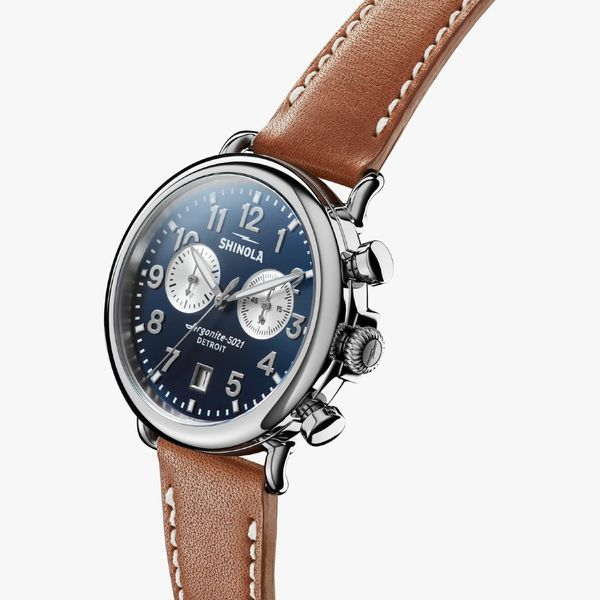 Shinola The Runwell Chronograph 41mm Stainless Steel Watch Image 2 Bremer Jewelry Peoria, IL