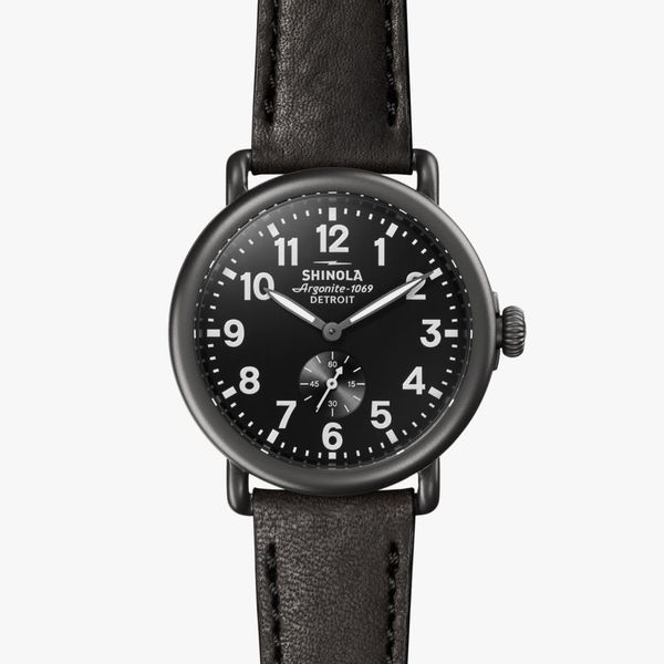 Shinola The Runwell 41mm Black PVD Watch Bremer Jewelry Peoria, IL