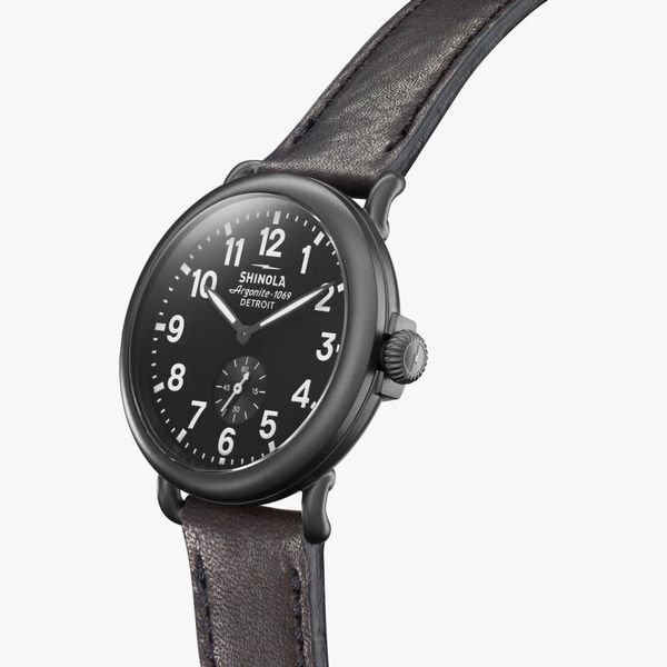 Shinola The Runwell 41mm Black PVD Watch Image 2 Bremer Jewelry Peoria, IL