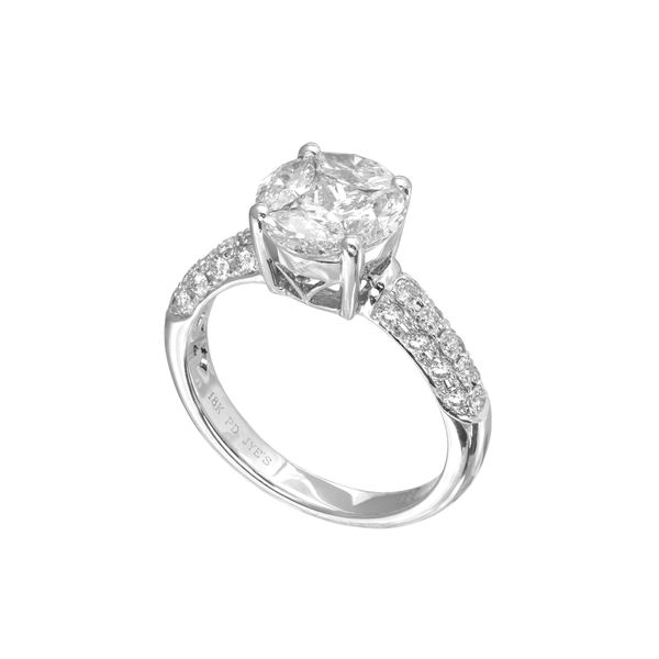 Diamond Semi-Mount Ring 1.45ctw Clater Jewelers Louisville, KY