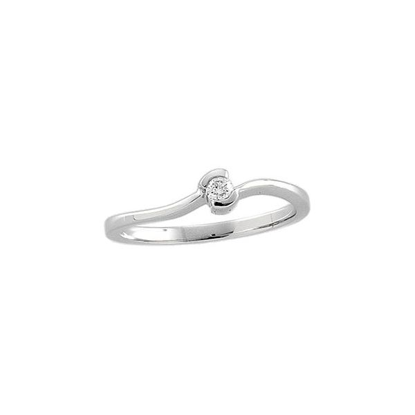 Curved Promise Ring Cottage Hill Diamonds Elmhurst, IL