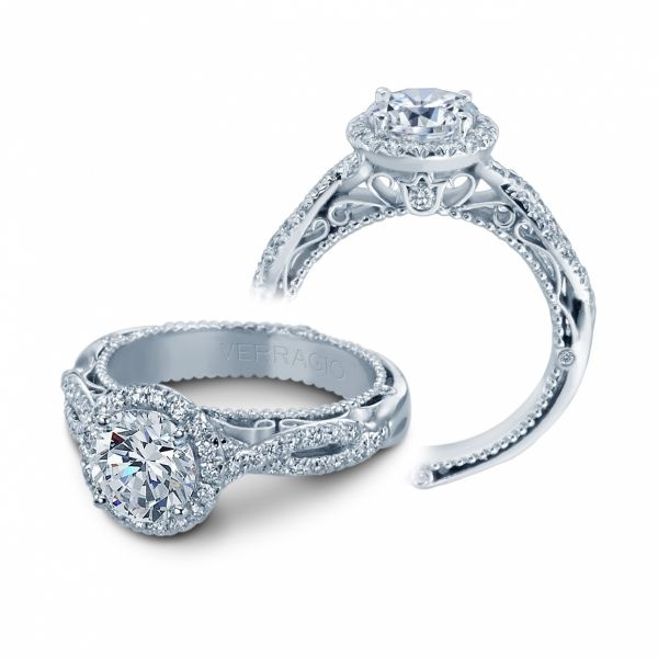 Venetian Collection Diamond Halo Cottage Hill Diamonds Elmhurst, IL