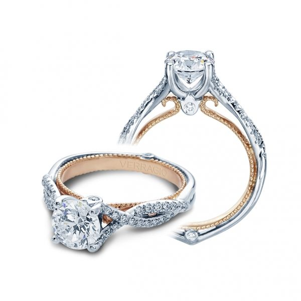 Couture Collection Twist Cottage Hill Diamonds Elmhurst, IL