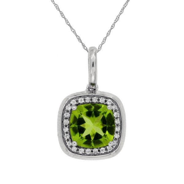 DIAMOND & PERIDOT PENDANT Cottage Hill Diamonds Elmhurst, IL