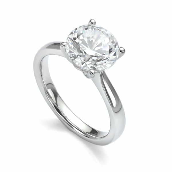 2 Carat Diamond Solitaire Ring Cottage Hill Diamonds Elmhurst Il