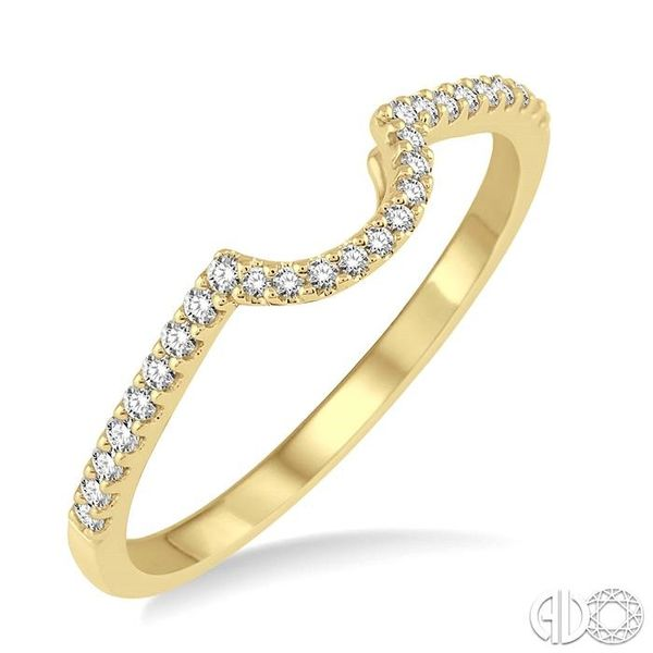 1/6 Ctw Round Cut Diamond Wedding Band in 14K Yellow Gold Coughlin Jewelers St. Clair, MI