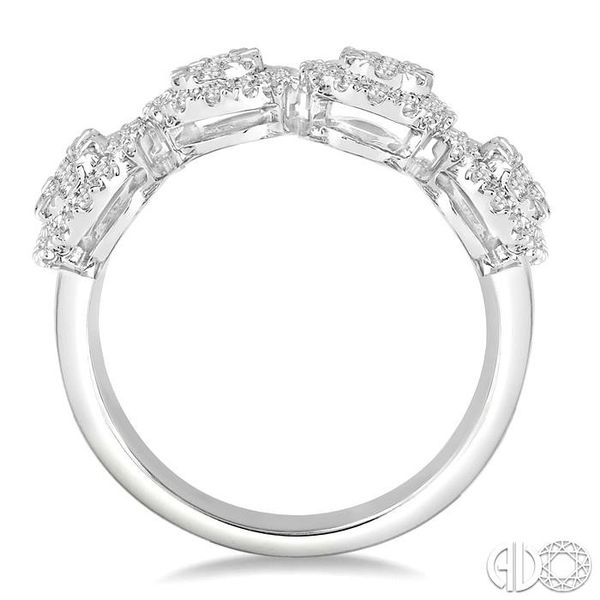3/4 Ctw Diamond Lovebright Ring in 14K White Gold Image 3 Coughlin Jewelers St. Clair, MI