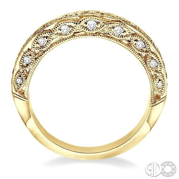 3/8 Ctw Diamond Matching Wedding Band in 14K Yellow Gold Image 3 Coughlin Jewelers St. Clair, MI