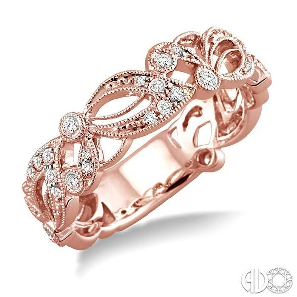 1/5 Ctw Diamond Fashion Ring in 14K Rose Gold Coughlin Jewelers St. Clair, MI