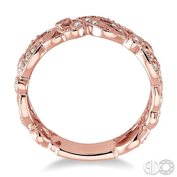 1/5 Ctw Diamond Fashion Ring in 14K Rose Gold Image 3 Coughlin Jewelers St. Clair, MI