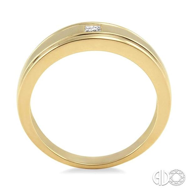 1/20 Ctw Princess Cut Diamond Ladies Duo Ring in 14K Yellow Gold Image 3 Coughlin Jewelers St. Clair, MI