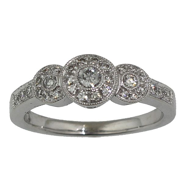 Diamond Engagement Ring Darrah Cooper, Inc. Lake Placid, NY