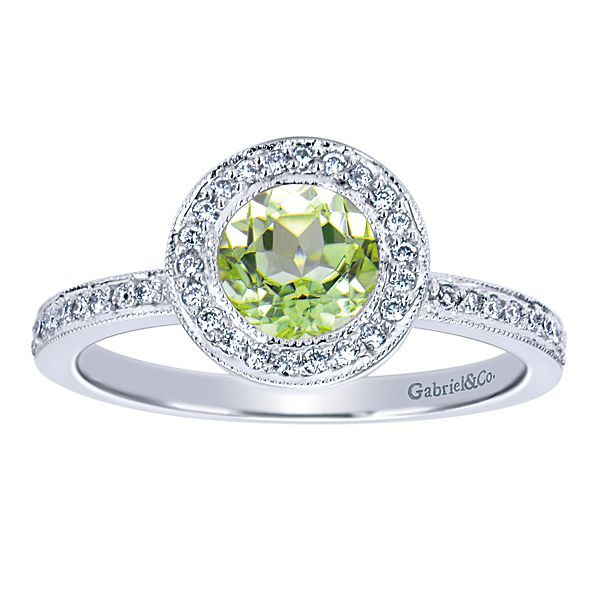 Peridot and Diamond Ring Darrah Cooper, Inc. Lake Placid, NY