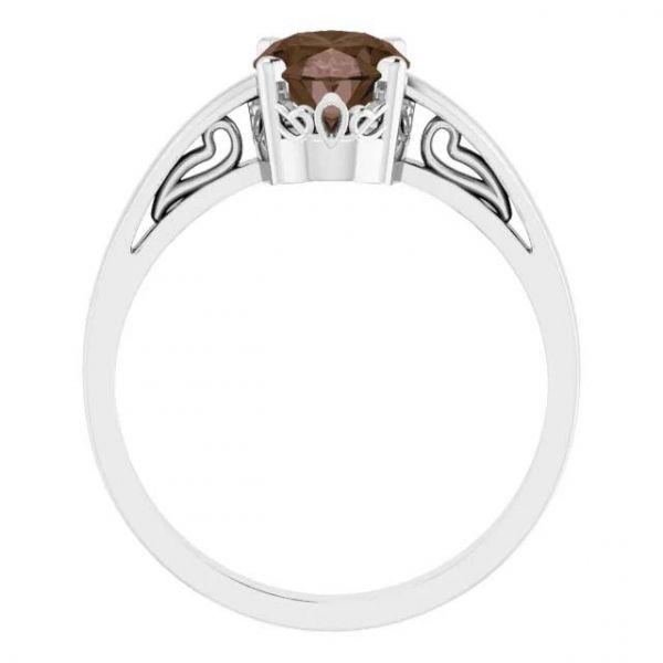 Simple Filigree Style Ring Image 2 David Douglas Diamonds & Jewelry Marietta, GA