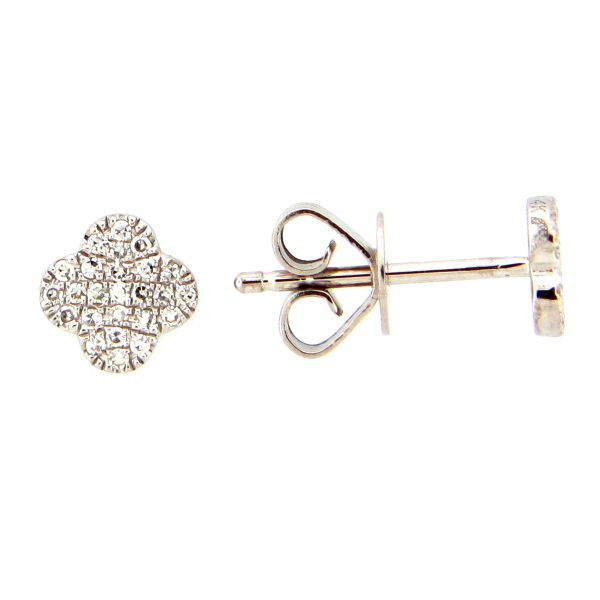 14K Diamond Earrings D. Geller & Son Jewelers Atlanta, GA