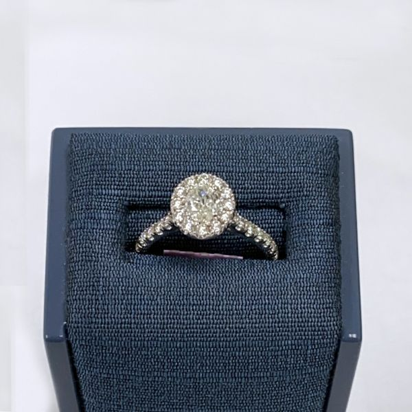 14K Diamond Halo Ring 1ctw D. Geller & Son Jewelers Atlanta, GA