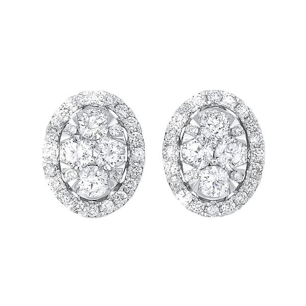 14K Diamond Earrings 1/2 ctw D. Geller & Son Jewelers Atlanta, GA