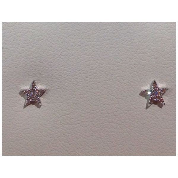 Star Diamond Earrings DJ's Jewelry Woodland, CA