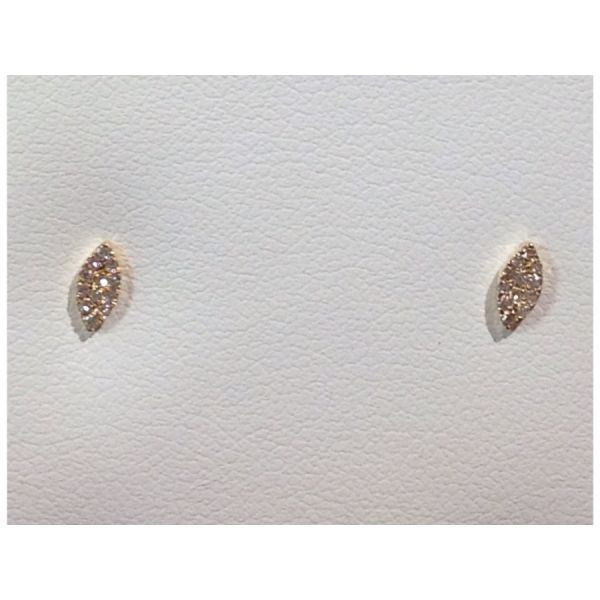 Marquise Diamond Earrings DJ's Jewelry Woodland, CA