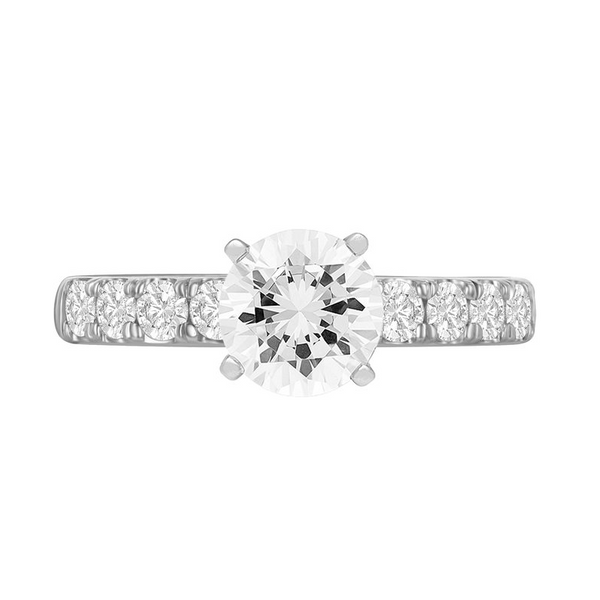 Diamond Semi-Mount Ring Anthony Jewelers Palmyra, NJ
