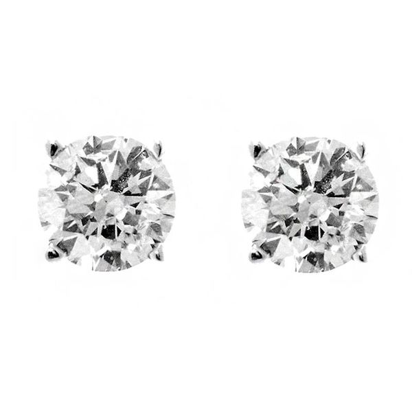 Diamond Stud Earrings Image 2 Anthony Jewelers Palmyra, NJ