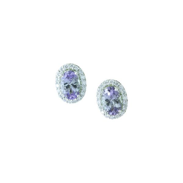 Gemstone Earrings Image 2 Anthony Jewelers Palmyra, NJ