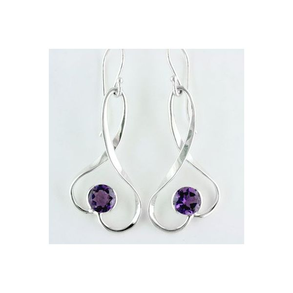 Sterling Silver Earrings Image 2 Anthony Jewelers Palmyra, NJ