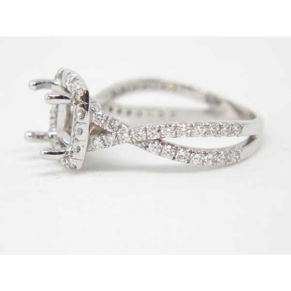 Diamond Engagement Ring Image 2 Arezzo Jewelers Chicago, IL