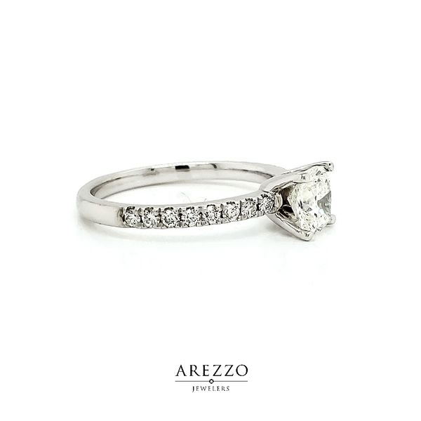 1.03ct Cushion Diamond Engagement Ring Image 2 Arezzo Jewelers Chicago, IL