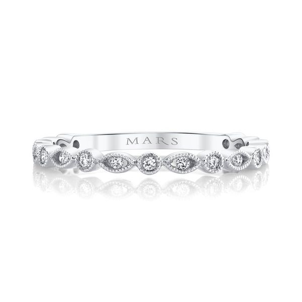 MARS Diamond Stackable Ring. 0.12 Ctw. Arezzo Jewelers Chicago, IL