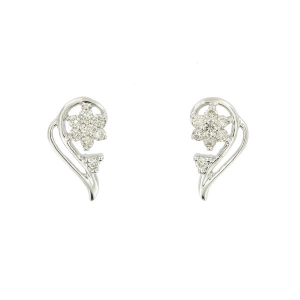 14k Diamond Angel Wings Earrings Arezzo Jewelers Chicago, IL