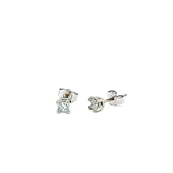 .30ct Round Diamond Stud Earrings Image 2 Arezzo Jewelers Chicago, IL