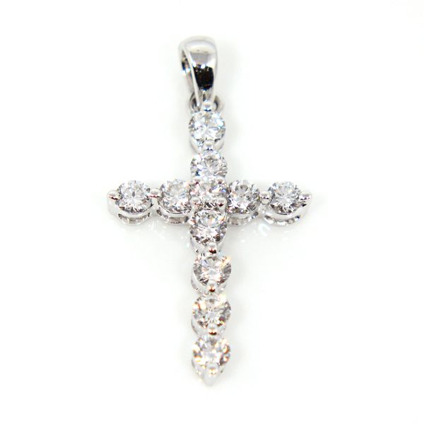 Ladies Diamond Cross Pendant Arezzo Jewelers Chicago, IL
