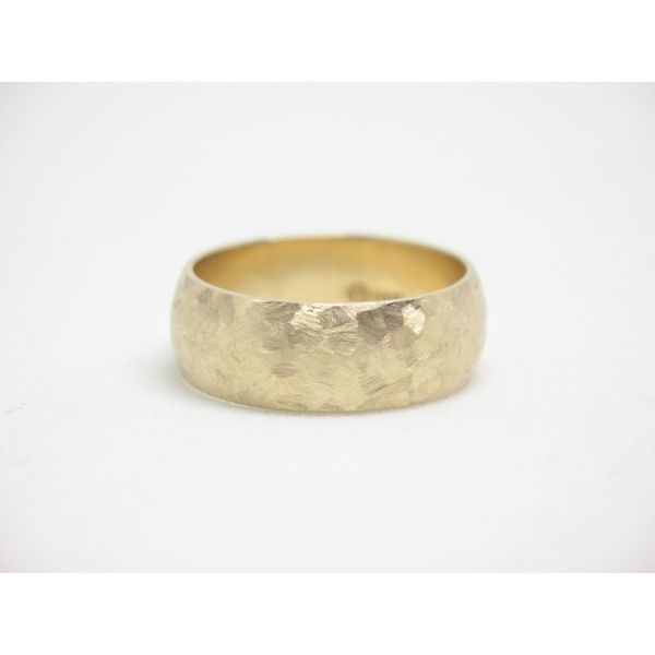 Gold Wedding Band - Men's Arezzo Jewelers Chicago, IL