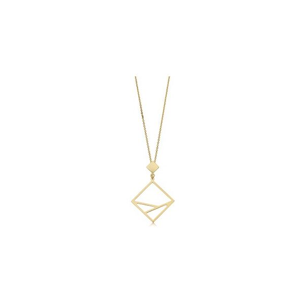 14k Yellow Gold Necklace Arezzo Jewelers Chicago, IL
