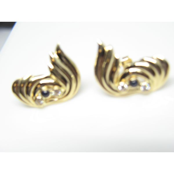 Gold Earrings Arezzo Jewelers Chicago, IL