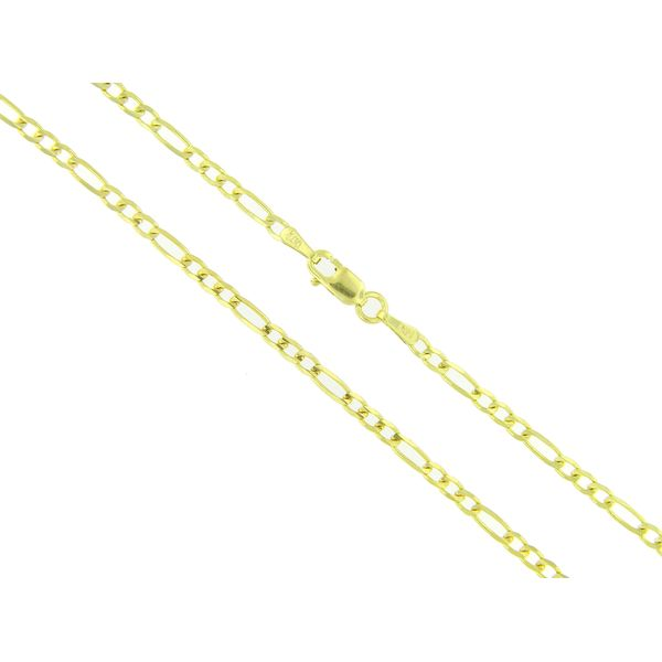 14k Yellow Gold Figaro Chain - 20