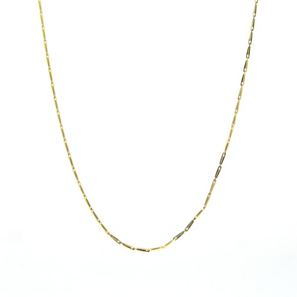 18k Yellow Gold Pendant Chain Arezzo Jewelers Chicago, IL