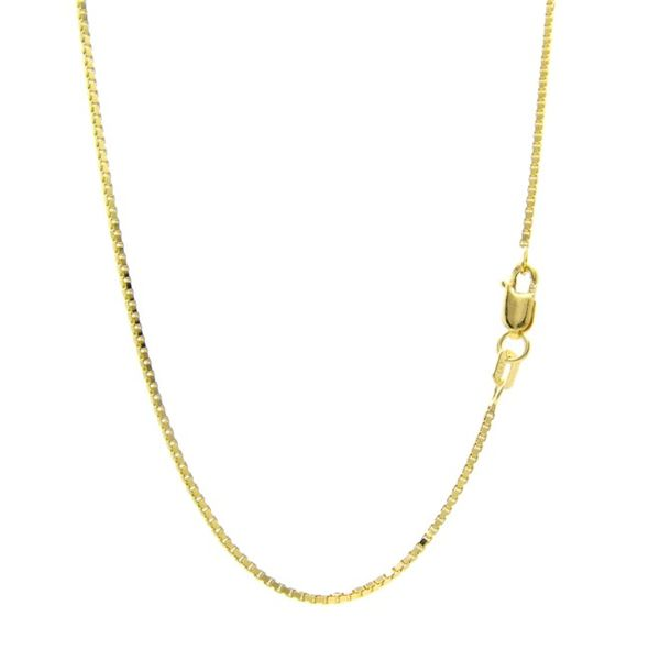 14K Yellow Gold Box Chain, 20