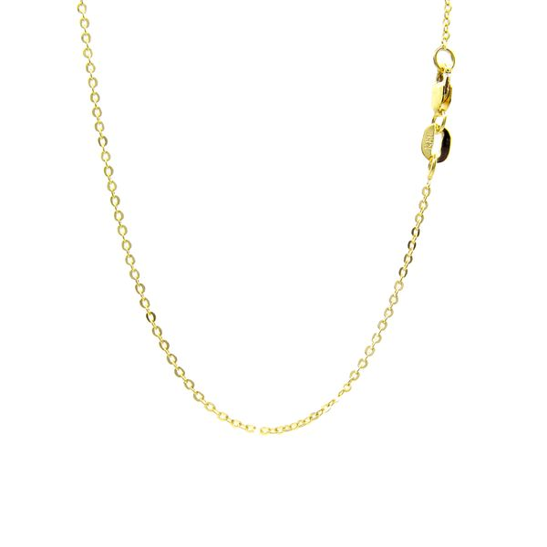 14k Yellow Gold Rolo Chain Arezzo Jewelers Chicago, IL