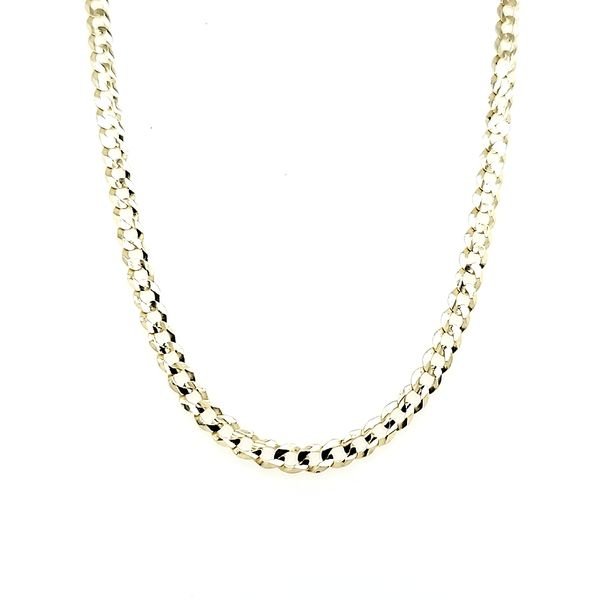 10k Yellow Gold Curb Chain, 20