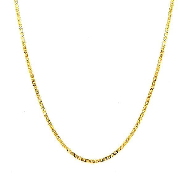 14k Yellow Gold Anchor Link Chain Arezzo Jewelers Chicago, IL