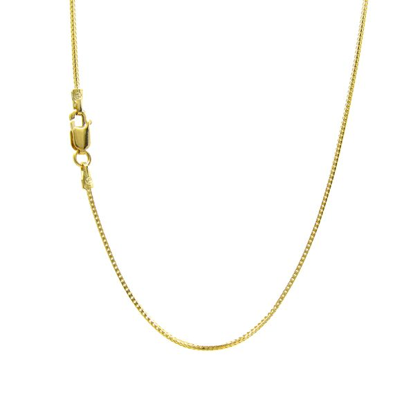 14k Yellow Gold .8mm Franco Chain Arezzo Jewelers Chicago, IL