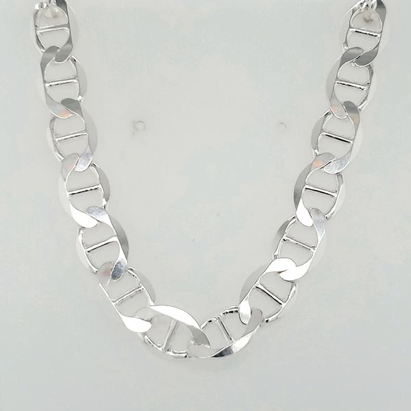 Silver Polished & Diamond Cut Gucci Bracelet Image 2 Arezzo Jewelers Chicago, IL